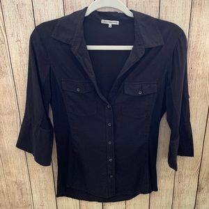Standard James perse button down top.size 3